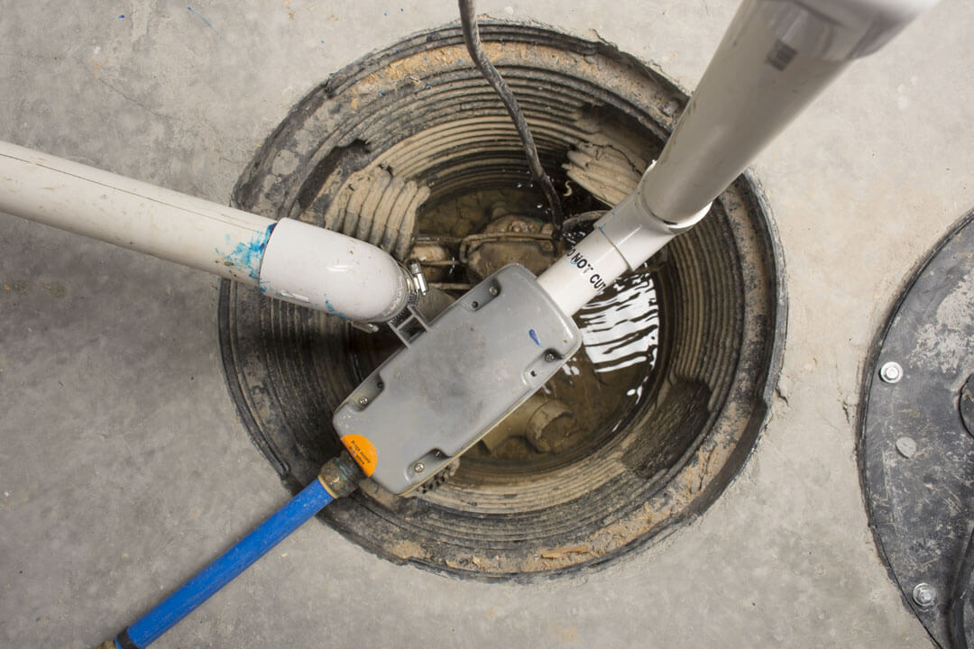 Backup Sump Pump Installation